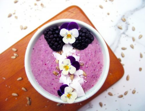 Blackberry Power Smoothie