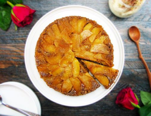 Gluten-Free Caramelised Apple Upside-Down Cake