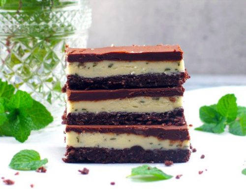 The Ultimate Choc Mint Slice (Gluten-Free)